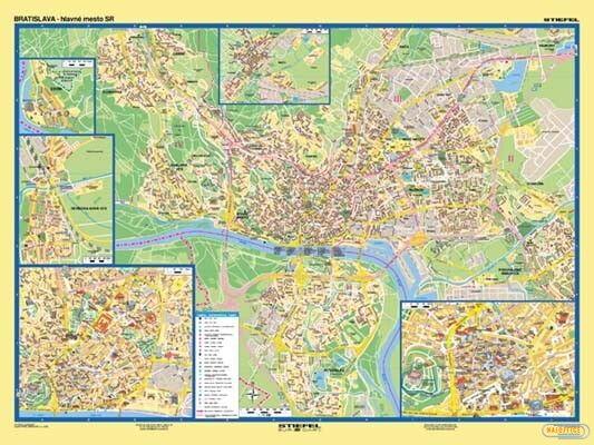 Mapa Bratislava Podrobny Plan Mesta Register Najoffice Sk